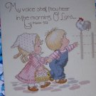 Free USA S&H Gloria & Pat Vintage Needlepoint Patterns God's In His Heaven Cross Stitch Book