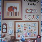 Vintage Burdett Country Calico Cats Cross Stitch Patterns Book