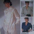 S&H Special Vintage Misses Set of Blouses 10 12 14 Uncut  McCall's 2721