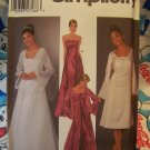 Free USA S&H Special New Evening Cocktail Dress Sewing Pattern 5246 Coat With Train Jacket 6 8 10 12