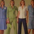 0 Shipping USA Threads Sewing Patterns 4637 Pants Purse Skirt Jacket 14 16 18 20
