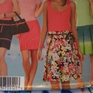 Threads 4596 Sewing Pattern Pleated Skirts Mini & Regular Length 4 6 8 10