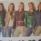 USA S&H 0  Misses Plus Size Blazer Jacket Sewing Patterns 4489 12 14 16 18 20