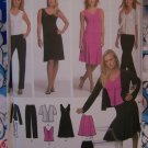 Free S&H USA Misses Simplicity Sewing Pattern 4697 Knit Dress Top Jacket Pants Skirt 4 6 8 10