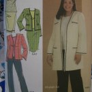 Plus Size Womens Sewing Pattern 4971 Suit Set Top Pants Skirt & Jacket in 2 lengths 18 20 22 24