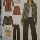 Plus Size Sewing Pattern Coat Jacket Pants Skirt Top 16 18 20 22 24 Simplicity 4369