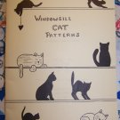 8 Vintage Woodworking Patterns Windowsill Cats Kittens Book by Roger Pringle