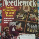 Christmas Needlepoint Patterns McCall's Needlework Magazine November 1997