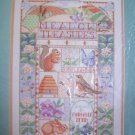 Vintage Bucilla Counted Cross Stitch Craft Kit Meadow Treasures 40515 Animals & Flowers