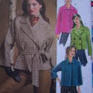 Easy Sewing Pattern Butterick 4865 Misses 4 6 8 10 12 14 Unlined Raglan Jacket Car Coat