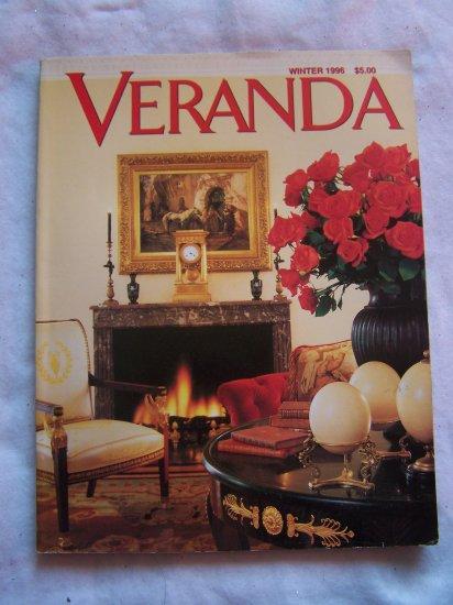 Veranda Back Issue Magazine Winter 1996