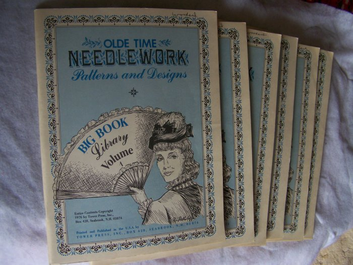 Vintage Olde Time Needlework Patterns & Designs Pick your Lot from 6 Issues