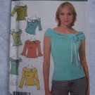 Simplicity Sewing Pattern Plus Size Misses 6 Off Shoulder Knit Tops 14 16 18 20 22 S 4633