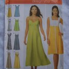Simplicity Sewing Pattern 4996 Misses Plus Size Design Your Own Sundress 6 Dresses 14 16 18 20