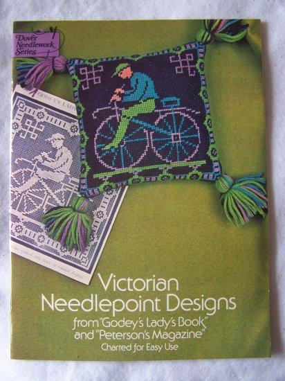 39 Vintage Victorian Needlepoint Pattern Charts Book Rita Weiss 1975