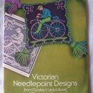 39 Vintage Victorian Needlepoint Pattern Charts Book Rita Weiss 1975