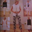 Butterick Sewing Pattern 3717 Wardrobe 12 14 16 Shirt - Jacket Vest Slim Skirt Capri & Pants