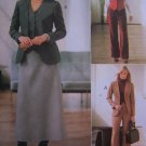 McCalls Sewing Pattern 4200 Misses Suit 12 14 16 18 Lined Jackets Vest Pants Bias Skirt
