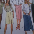 FREE USA S&H Sewing Patterns 8 10 12 14 Straight Skirts Contour Waist Front Slit All Lengths B4399