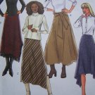 Free USA S&H Butterick 4348 Misses 14 16 18 20 Shaped Hem Shirts Sewing Patterns