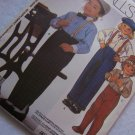New Vintage Toddler Boys or Girls Sewing Pattern Button Up Long Seeve Shirt Dress Pants 2130
