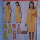 Uncut Simplicity Sewing Pattern 4991 Misses 6 8 10 12 Easy Summer Dresses & Jacket