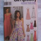 New Simplicity Sewing Pattern 5044 Womens Evening Gown Cocktail Dress 14 16 18 20 22