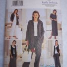 Uncut Sewing Pattern 3462 Kathy Ireland Wardrobe Jacket Vest Top Dress Skirt Pants 8 10 12