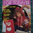 Needlework for Today Jan Feb 1987 Vintage Back Issue Pattern Magazine Crochet Knitting