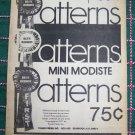 23 Vintage Barbie Doll Crochet Patterns Book Dress Pjs Coat Sweater Gown Costumes