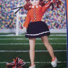 Fibre Craft Crochet Doll Cheerleader Uniform Clothing Patterns FCM226