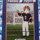 "Fibre Craft Crochet Football Player Uniform Pattern 16"" Doll FCM227"