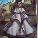 Fibre Craft Crocheting Pattern Indian Princess Pow Wow Dress FCM238