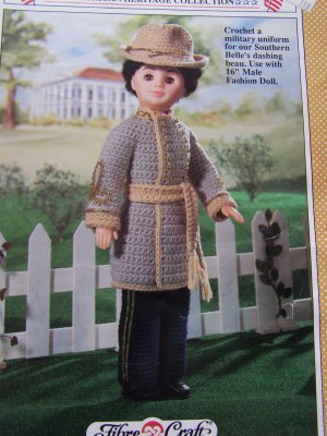 Over 50 Free Crochet Doll Clothes Patterns at AllCrafts!