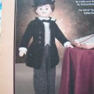 Vintage Doll Clothing Crochet Pattern Fibre Craft Victorian Groom FCM195
