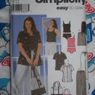 Free USA S&H Uncut Sewing Pattern 5571 Plus Size Womens Pants Shorts Shirt Tankini 26 28 30 32W