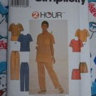 New Simplicity Sewing Pattern 8131 Plus Size 20 22 24 Loose Top Pants Shorts