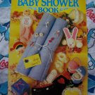 80's Vintage Annie's Baby Shower Crochet Patterns & Idea Book Games Snacks & More