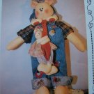 "New Stuffed 20"" Teddy Bear & Cubs Sewing Patterns 102 Beary Good Huggins"