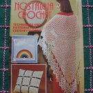 1970s Vintage Crochet Pattern Book American Thread 406 Nostalgia Crocheting