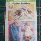 Vintage Crochet Patterns Baby Layette Newborn - 6M Blanket Booties Bonnet Bunting Saque 5488