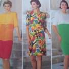 Free USA S&H  Sewing Pattern 5980 Womens Plus Sz 18 20 22 Loose Straight Slim Dress