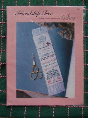 Victoria Sampler Cross Stitch & Hardanger Pattern Friendship Tree Best Friends Gift