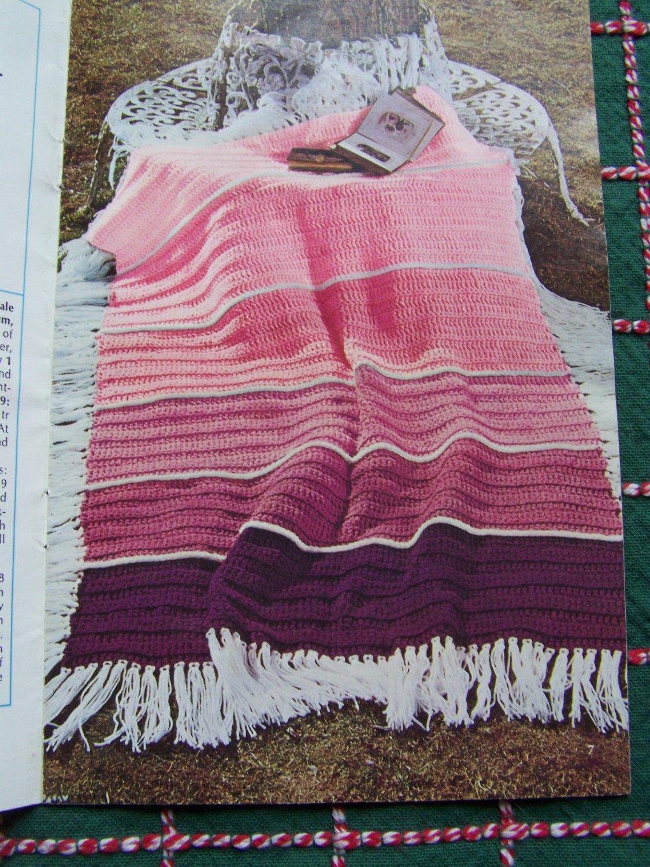 Book Cover Crochet S : Vintage crochet knitting patterns afghans book  s