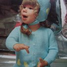 Vintage Brunswick Baby Knitting Patterns Kitty Cardigan Helmet & Lacy BOrder Cardigan & Cap 7420