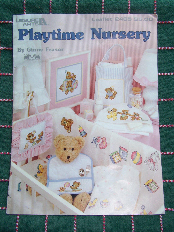 Cross Stitch Patterns Baby Nursery Layette Leisure Arts 2465