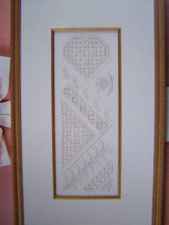 New Hardanger Embroidery Chart Patterns Sampler Book Mark Napkin Ring