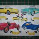 3 New Daisy Kingdom No Sew Appliques Lot Vintage Cars Easter Bunny Patriotic Primitive