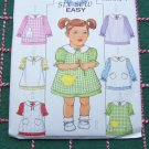 Uncut Sewing Pattern 4379 Toddler A Line Dress Pinafore 1 2 3 4  USA 1 Dollar Shipping