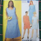 USA Free S&H New Sewing Pattern 9295 Womens Plus Size Dress 26W 28W 30W 32W